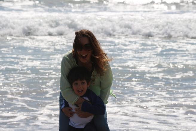 Eu Mateus praia 2015