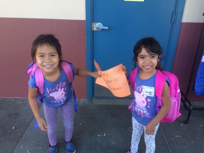 Lulu e Bibi! 5 aninhos: primeiro dia de 'preschool'
